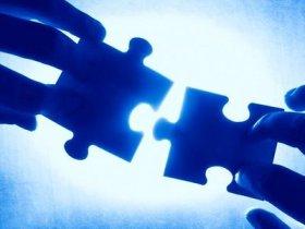 puzzle azul luz