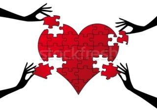 puzzle corazon se llevan